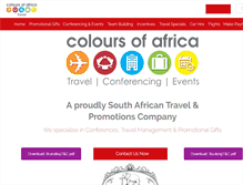 Tablet Preview of coloursofafrica.co.za